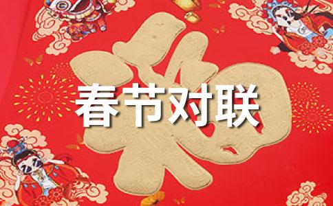 纺织品店蛇年春节对联